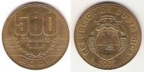 Каталог монет - монета  Коста-Рика 500 колон