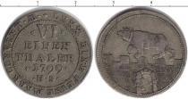 Каталог монет - монета  Анхальт-Бернбург 1/6 талера
