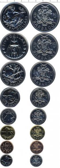 Каталог - подарочный набор  Барбадос Выпуск монет 1980