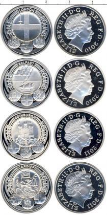 Каталог - подарочный набор  Великобритания Серебряные фунты