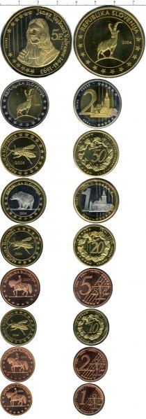 Каталог - подарочный набор  Словения Евро-модель