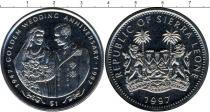 Каталог - подарочный набор  Сьерра-Леоне Золотой юбилей бракосочетания Елизаветы и Филиппа