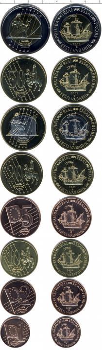 Каталог - подарочный набор  Эстония Евро-модель
