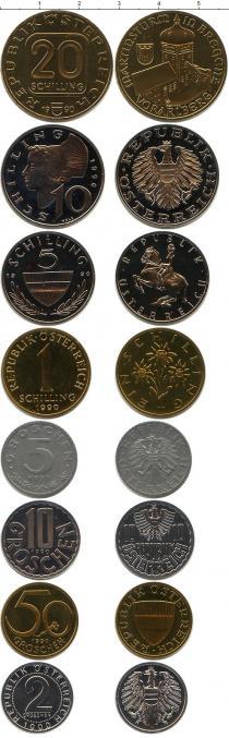 Каталог - подарочный набор  Австрия Выпуск 1990