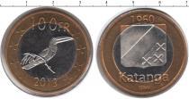 Каталог монет - монета  Катанга 100 франков