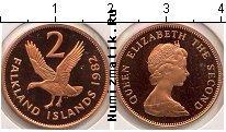 Каталог монет - монета  Фолклендские острова 2 пенса