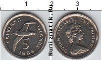 Каталог монет - монета  Фолклендские острова 5 пенсов