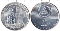 Каталог монет - монета  Малайзия 25 рингит