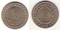 Каталог монет - монета  Парагвай 1 песо