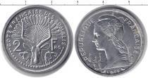 Каталог монет - монета  Сомали 2 франка