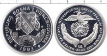 Каталог монет - монета  Босния и Герцеговина 14 экю