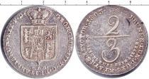 Каталог монет - монета  Брауншвайг-Люнебург 2/3 талера