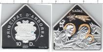 Каталог монет - монета  Андорра 10 динерс