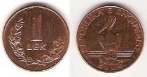 Каталог монет - монета  Албания 1 лек