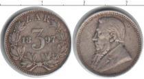 Каталог монет - монета  ЮАР 3 пенса