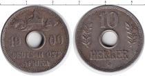 Каталог монет - монета  Немецкая Африка 5 хеллеров