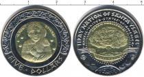 Каталог монет - монета  Санта Изабель 5 долларов