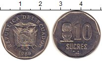 Каталог монет - монета  Эквадор 10 сукре