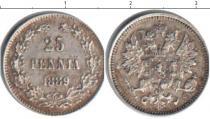 Каталог монет - монета  1881 – 1894 Александр III 25 пенни