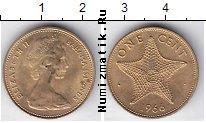 Каталог монет - монета  Багамские острова 1 цент