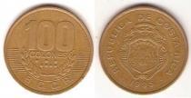 Каталог монет - монета  Коста-Рика 100 колон
