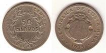 Каталог монет - монета  Коста-Рика 50 сентим