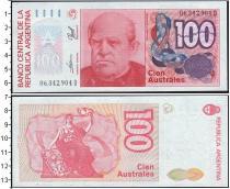 Каталог монет - монета  Аргентина 100 аустралес