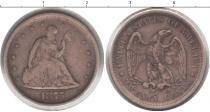 Каталог монет - монета  США 20 центов
