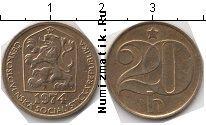 Продать Монеты Чехословакия 20 хеллеров 1990 Латунь