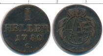 Каталог монет - монета  Саксония 1 геллер