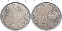 Продать Монеты Польша 10 злотых 2013 Серебро