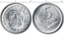 Каталог монет - монета  Мали 5 франков