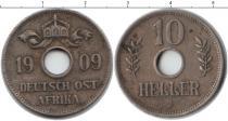 Каталог монет - монета  Немецкая Африка 10 хеллеров