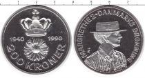 Каталог монет - монета  Дания 200 крон