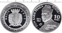 Каталог монет - монета  Мальта 10 евро