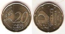 Каталог монет - монета  Андорра 20 евроцентов