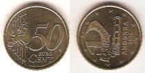 Каталог монет - монета  Андорра 50 евроцентов