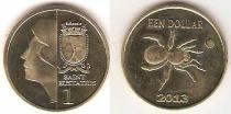 Каталог монет - монета  Синт-Эстатиус 1 доллар