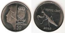 Каталог монет - монета  Синт-Эстатиус 50 центов