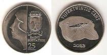 Каталог монет - монета  Синт-Эстатиус 25 центов