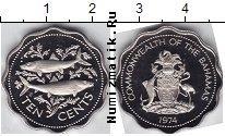 Каталог монет - монета  Багамские острова 10 центов