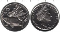 Продать Монеты Антарктика 2 фунта 2014