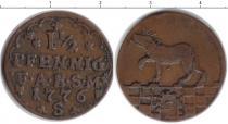 Каталог монет - монета  Анхальт-Бернбург 1 1/2 пфеннига