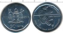 Каталог монет - монета  Фиджи 50 центов