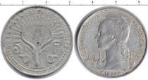 Каталог монет - монета  Французский Сомалиленд 5 франков