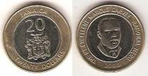 Каталог монет - монета  Ямайка 20 долларов