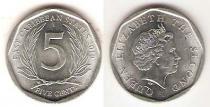 Каталог монет - монета  Карибы 5 центов