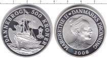 Каталог монет - монета  Дания 500 крон