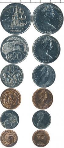 Каталог - подарочный набор  Новая Зеландия Новая Зеландия 1968