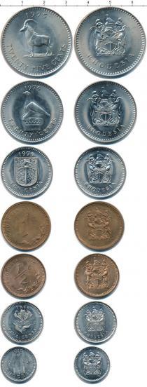 Каталог - подарочный набор  Родезия Родезия 1970-1976